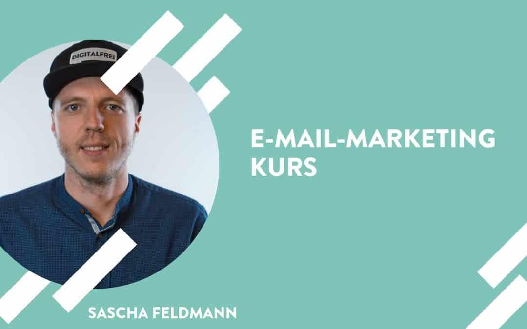 Sascha Feldmann in der Digitalfrei Akademie E-Mail-Marketing Kurs